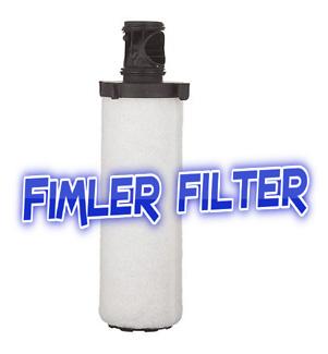 047543 Sullair Part# 47543 Air Filter,