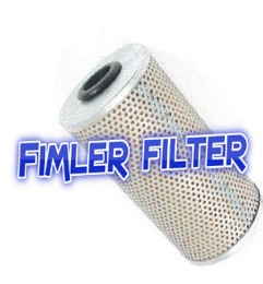 HYSTER Filters 188237, 144678, 14467800, 145196, 3000114, 3000122, 3000226, 3051531, 3051792, 3051794, 3051898, 3052231