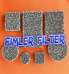 High Porosity Sponge Filter Material Three Dimensional Connected Mesh Structure